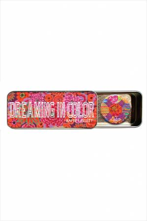 Magnetic Needle Tin - Kaffe Fassett Studio, Dreaming in color by Zappy Dots
