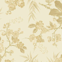 Andover - Little Sweetheart - Bouquet - Clotted Cream - Tone on Tone by Laundry Basket Quilts