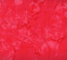 HFM - 1895 Batik - Bali Watercolors - Salmon - bright red