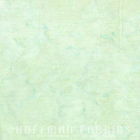 HFM - 1895 Batik - Bali Watercolors - Seagrass green, pastel(modern mermaid)