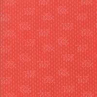 Le Pavot - Poppy - Crosshatch - Red by Sandy Gervais