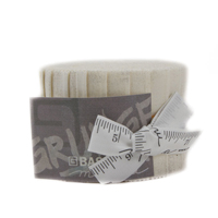 Grunge Junior Jelly Roll - Creme-20 Assorted 2.5 Inch Strips by BasicGrey