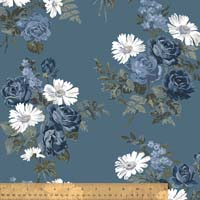 Windham - Camilla - Market Bouquet - Denim