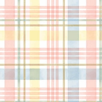 Garden Inspirations - Multi Plaid, yellow,blue & pink  by Jane Alison