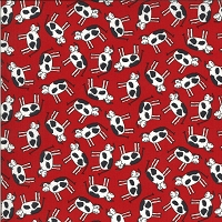 Animal Crackers - Cows - red by Sweetwater