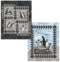 Penguin Rocks #2 Quilt Kit
