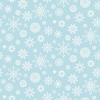 Studio E - Peace and Goodwill – Snowflake, Blue.