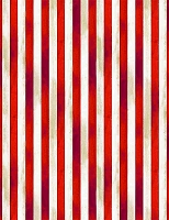 Land of the Free - We the People - patriotic stripes, vintage red & white.