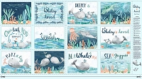 Whaley Loved - Soft book PANEL 2/3yd.