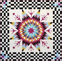Checkmate Quilt Kit - 63 x 63includes Pattern, Top & Binding