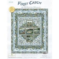 First Catch Quilt Kit - 64x78includes Pattern, Top & Binding